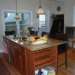 Lots of counter space in kitchen