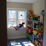 Toy room on second floor